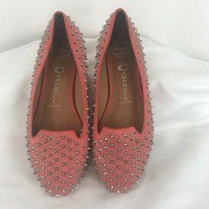 Jeffery Campbell Martini Studded Ballerina Flats